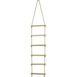 Bigjigs Toys Dřevěný provazový žebřík