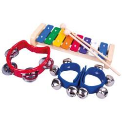 Bino Set 3 hudebních nástrojů