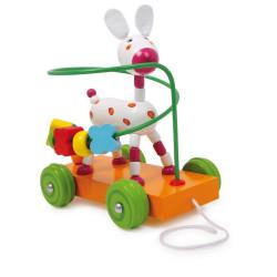 Legler traktor Donkey LABYRINTH - motorikus vörös arc
