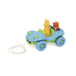 Green Toys Tahací auto modré