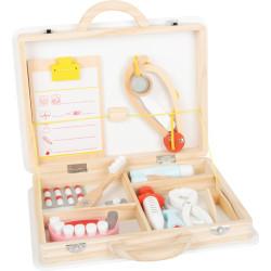 Small Foot Dětský doktorský kufřík pro malé zubaře 2v1