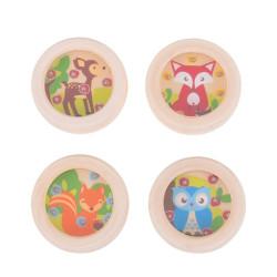 Bigjigs Toys hra minilabyrint zvířátka 1ks Sova