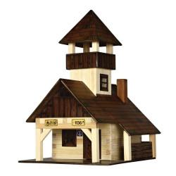 Walachia Dřevěná slepovací stavebnice Turistická bouda