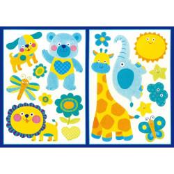 Legler dekorációs matricák ÁLLATOK