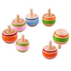 Bigjigs Toys Dřevěná káča Spinning 1 ks