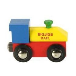 Bigjigs Rail dřevěná vláčkodráha - Lokomotiva