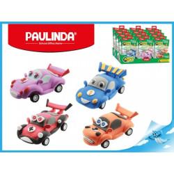 Paulinda modelovací hmota Racing Time auto růžové