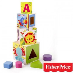 FISHER PRICE - MY FIRST FA PYRAMID VKLÁDAČKA