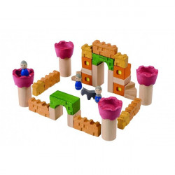 Plan Toys kocka - CASTLE