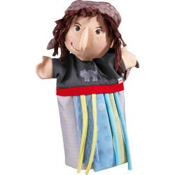 Haba Puppe / Handpuppe der Hexe