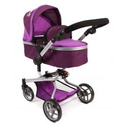 Bayer Chic Puppe Buggy YOLO PLUM