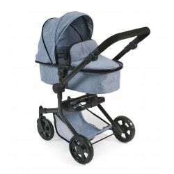 Bayer Chic Puppe Buggy MIKA BLUE JEANS