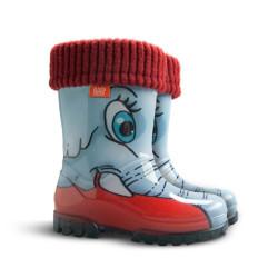 Demar Twister lux PRINT HD (slon) - Dětské gumáky