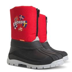 Demar New Nordic C (piros) - Gyermek snowboots