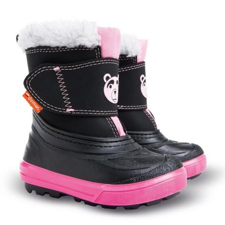 27e1b9677e9 Demar Bear B (růžové) - Dětské sněhule - ALADA