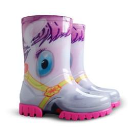 Demar Twister PRINT HA (pony) - Dětské gumáky