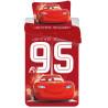 Jerry Fabrics povlečení Cars 95 red 140x200 70x90