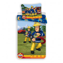 Jerry Fabrics ágynemű Sam a tűzoltó 008 140x200 70x90