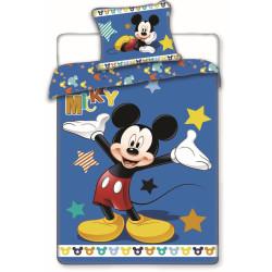 Jerry Fabrics povlečení Mickey hvězdy 140x200 70x90
