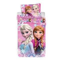 Jerry Fabrics ágynemű Frozen nővérek 140x200 70x90