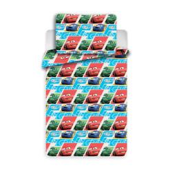 Jerry Fabrics povlečení Cars kids 90x130 cm + 40x60 cm