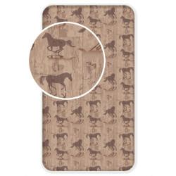 """Jerry Fabrics prostěradlo Horse """"Western"""" 90 × 200"""