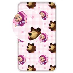 Jerry Fabrics lepedö Mása és a Medve 90 × 200