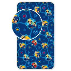 Jerry Fabrics prostěradlo Požárník Sam 008 90 × 200