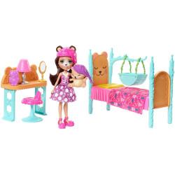 Mattel Enchantimals domácí pohoda II. ložnice