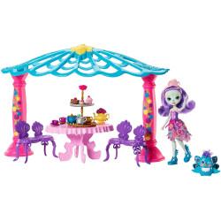 Mattel Enchantimals Lenyűgöző páva pavilonnal