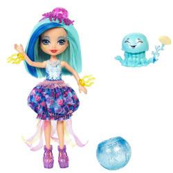 Mattel Enchantimals Vodní svět panenka a zvířátko Jessa Jellyfish & Marisa