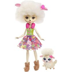 Mattel Enchantimals Panenka se zvířátkem Lorna a jehňátko