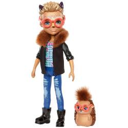 Mattel Enchantimals Panenka se zvířátkem Hixby Hedgehog & Pointer