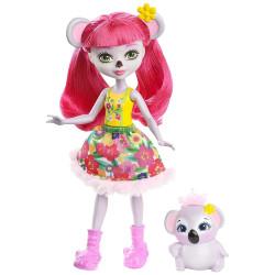 Mattel Enchantimals Panenka se zvířátkem Karina Koala & Dab