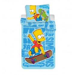 Jerry Fabrics povlečení Bart blue 140x200 70x90