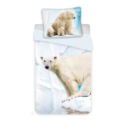 Jerry Fabrics povlečení Lední medvěd 140x200 70x90