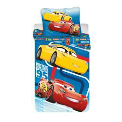 Jerry Fabrics ágynemű Cars blue 02 140x200 70x90