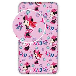 Jerry Fabrics prostěradlo Minnie pink 90 × 200