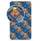 Jerry Fabrics prostěradlo Bořek stavitel 002 90 × 200
