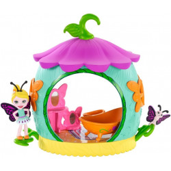 Mattel Enchantimals brouček s domečkem Coocon Bathroom