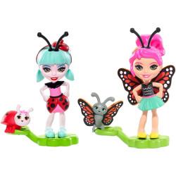 Mattel Enchantimals 2-Pack Baxi Butterfly & Ladelia Ladybug