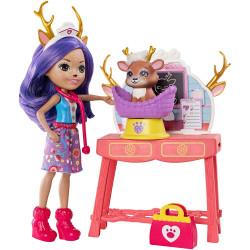Mattel Enchantimals Veterinární klinika Caring Vet - Danessa Deer & Sprint