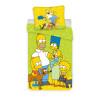 Jerry Fabrics ágynemű Simpsons green 02 140x200 70x90