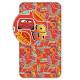 Jerry Fabrics prostěradlo Cars red 90 × 200