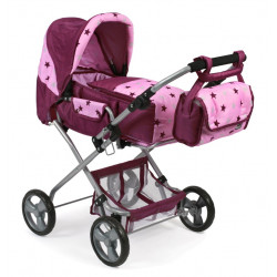Bayer Chic baba buggy Bambino kombi Stars Blackberry