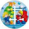 Haba Dřevěná motorická deska Svět hasičů