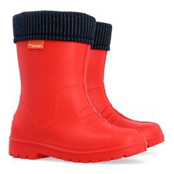 Demar Dino B2 (piros) - Kids eső csizma