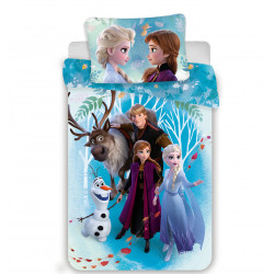 Jerry Fabrics povlečení Frozen 2 Rodina 140x200 70x90