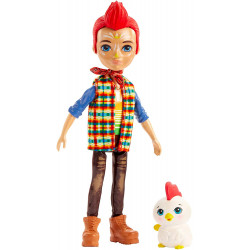 Mattel Enchantimals Panenka se zvířátkem Redward Rooster & Cluck