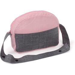 Bayer Chic přebalovací taška na kočárek pro panenky 70 - Pink Jeans